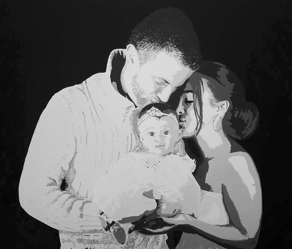 Family Pop art