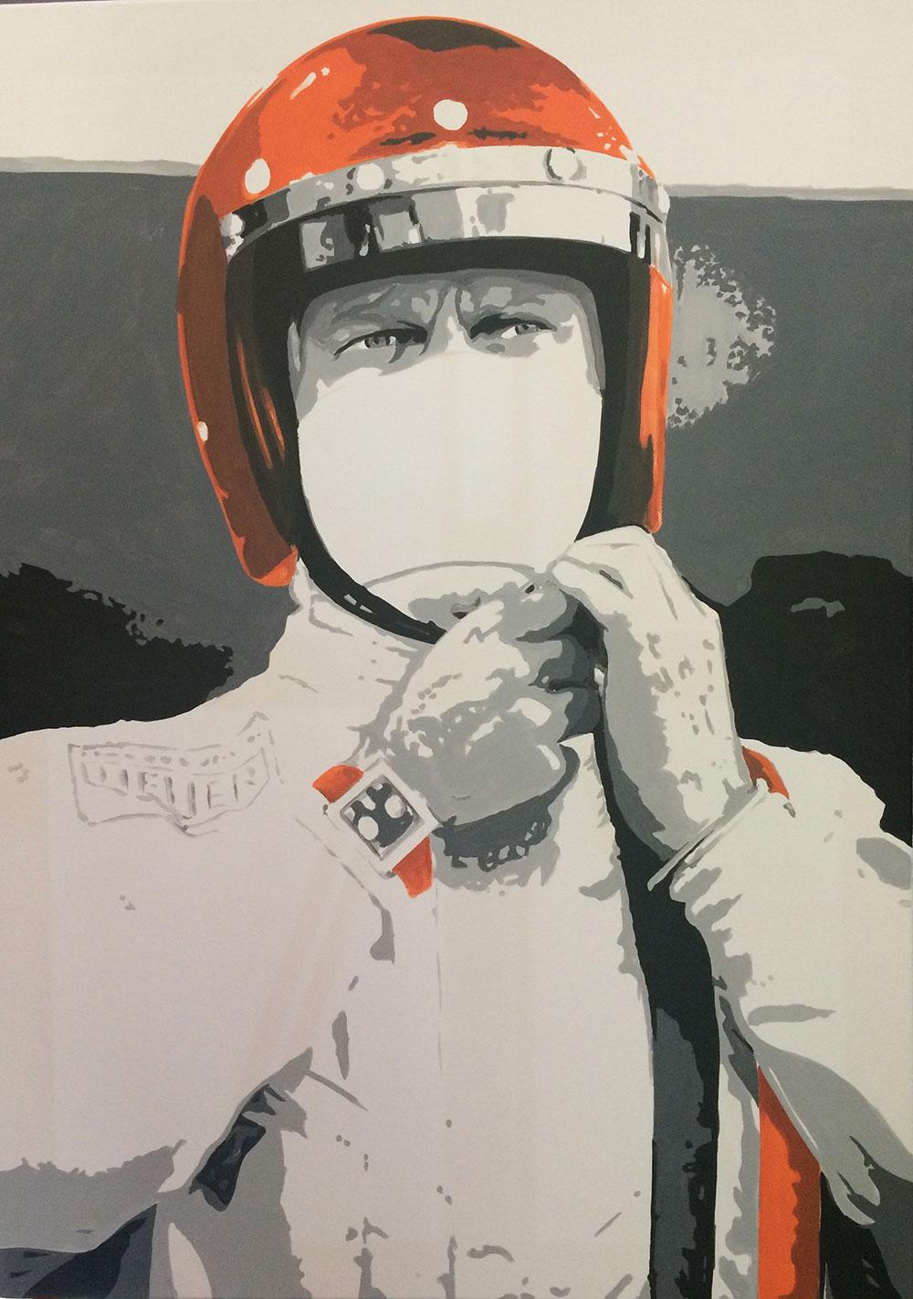 Steve McQueen Pop art