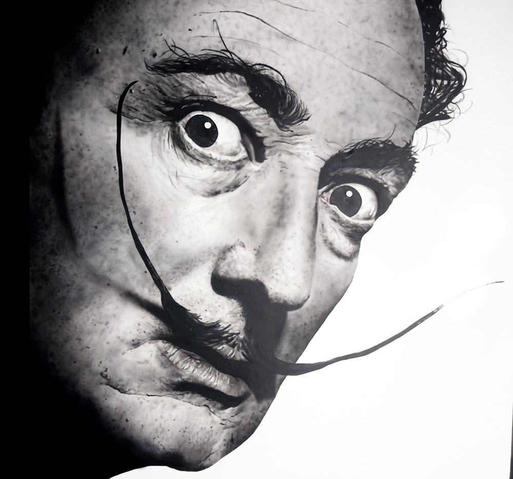 Dali – Airbrush portrait