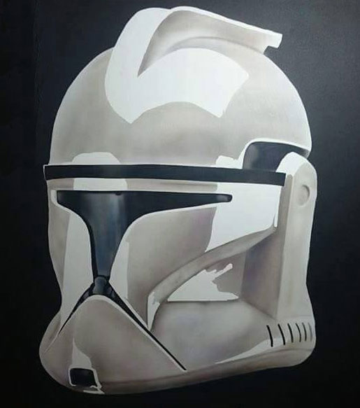 stormtrooper 2 – STAR WARS AT THE AIRBRUSH